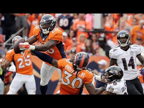 Darian Stewart INT to Seal Broncos Win in Danish | Ravens vs. Broncos | NFL