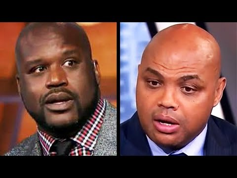Shaq And Charles Barkley's Argument Gets Personal On Live TV