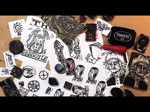 Creative Ideas, SOIC, Stamp Carving
