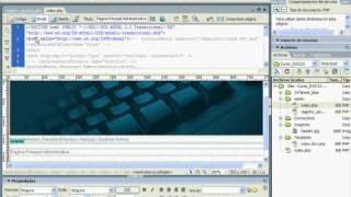 CURSO DREAMWEAVER AVANZADO CON PHP & MYSQL - VIDEO 08 Mp3