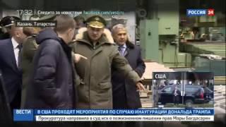 Возобновление серийного производства Ту 160 в Казани