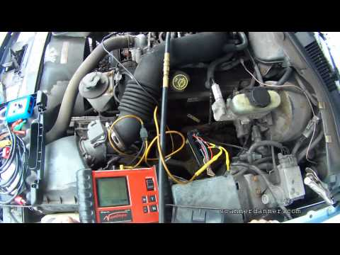How to test an electric fuel pump (no fuel psi testing) Ford