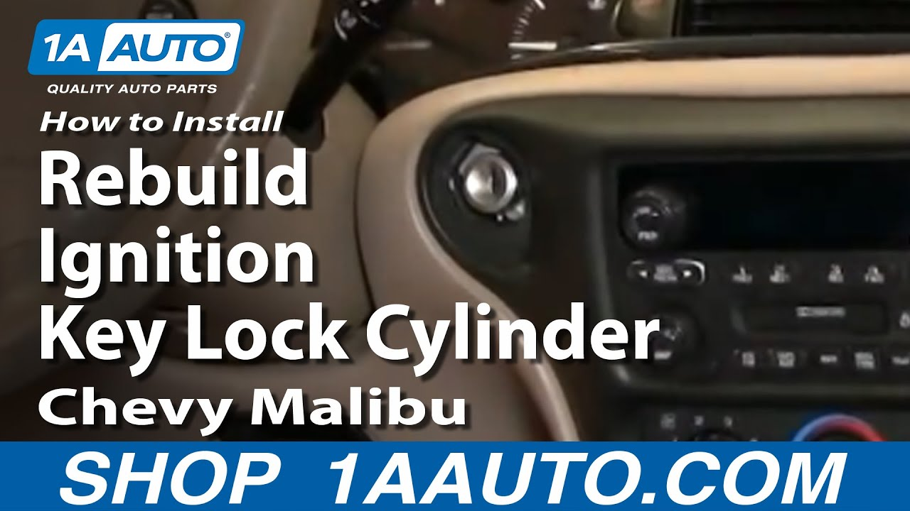 How To Install Replace Rebuild Ignition Key Lock Cylinder