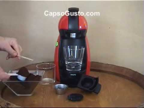 dolce gusto rechargeable cap for piccolo youtube. Black Bedroom Furniture Sets. Home Design Ideas