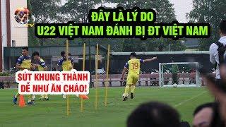 Quang Hải tập sút khung thành dễ như ăn cháo, ĐT Việt Nam tập luyện hừng hực khí thế