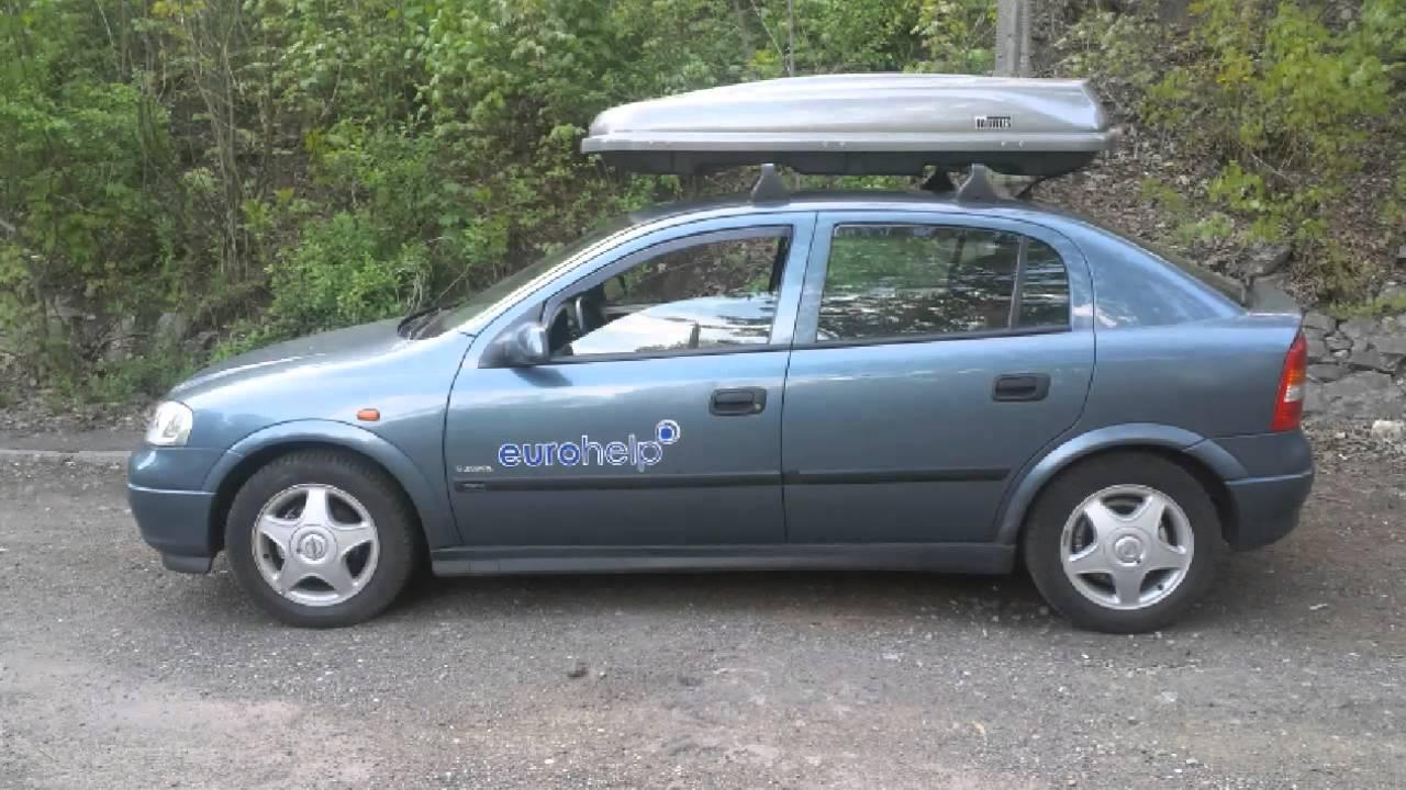 Opel astra g baga nik box dachowy taurus x t2 450 195 cm for Opel astra g interieurfilter