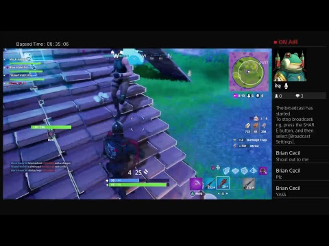 Fortnite Battle Royale Going for win w/ BlackHawk141and others