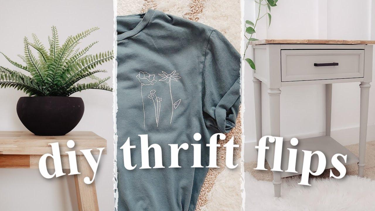 DIY THRIFT FLIP DECOR | On Budget Home Decor + Clothes
