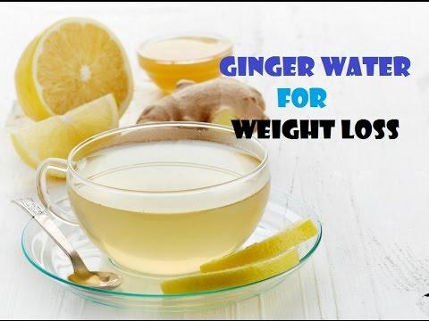 Ginger Water for Weight loss | Water Lemon Ginger Diet - YouTube