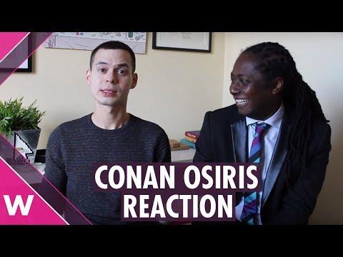 Conan Osiris Telemóveis reaction | Festival da Canção 2019