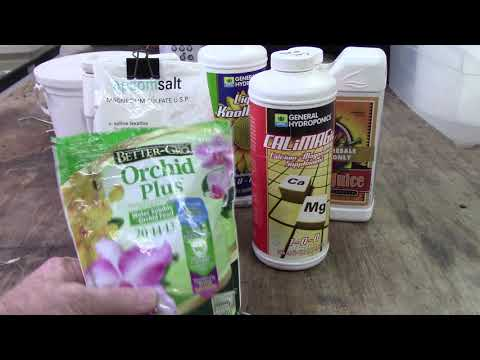 Orchids......Magnesium And Calcium Supplements