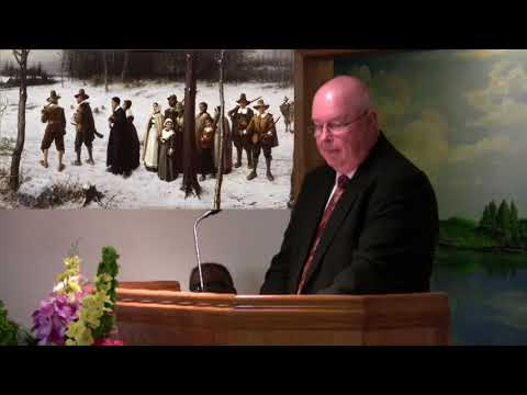 Tom McCormack & Pernell Harrison, Why The Pilgrims Really Came To America - Pulaski SDA Church