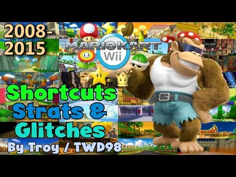 Mario Kart Wii - Shortcuts, Strats & Glitches Collection ~ 2008-2015