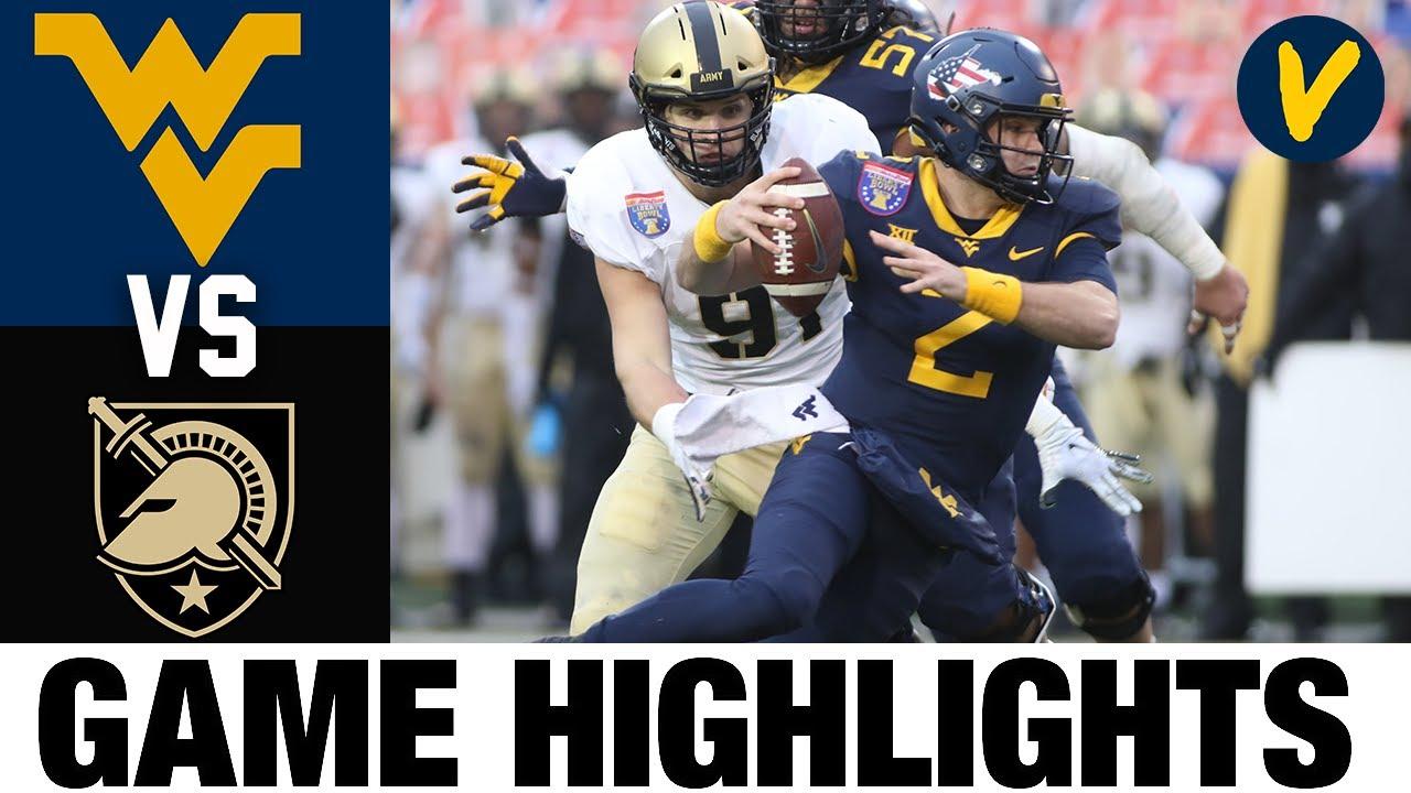 West Virginia vs Army Highlights | 2020 Liberty Highlights| College Football Highlights