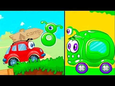 Мультик игра про машинки - Вилли и Пришельцы. Самое новое видео для детей 2021 года смотреть онлайн.
