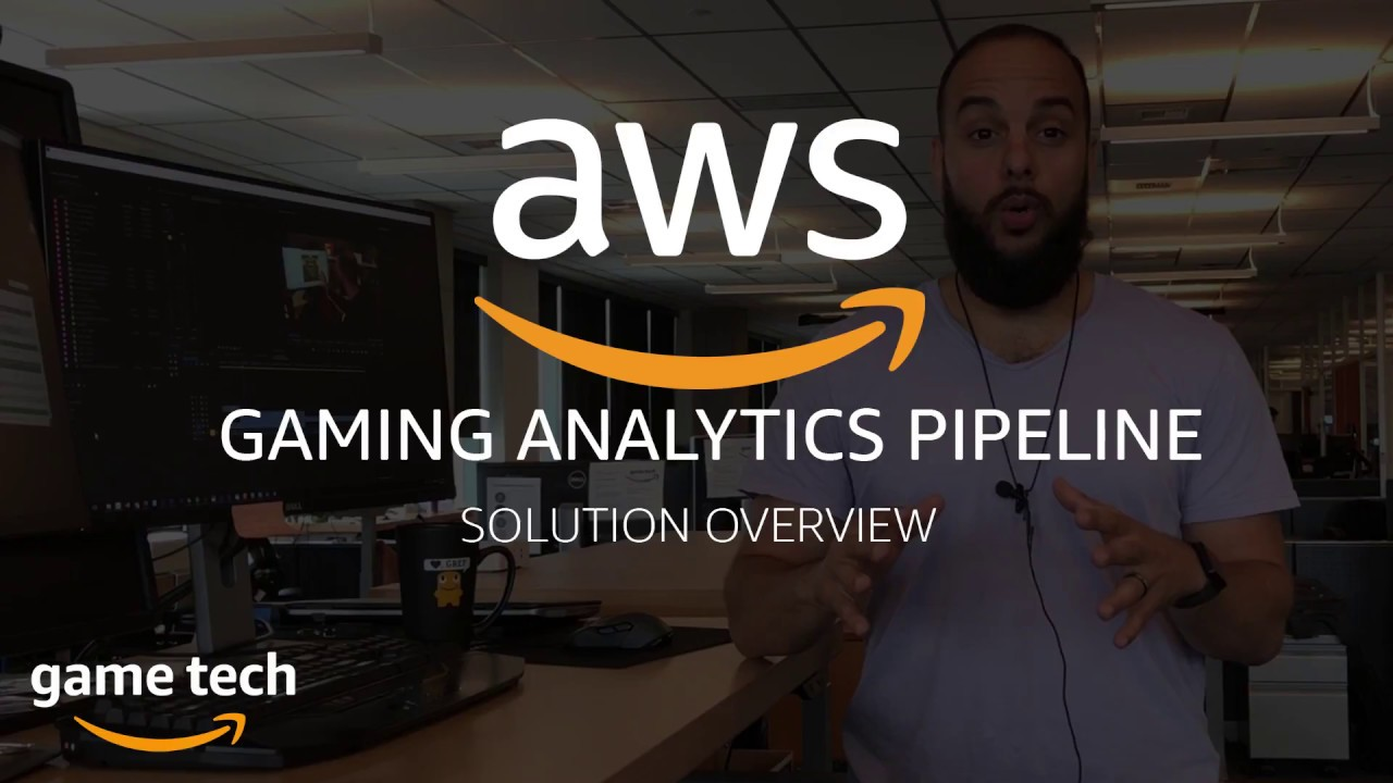 Overview of an AWS powered Gaming Analytics Pipeline Solution