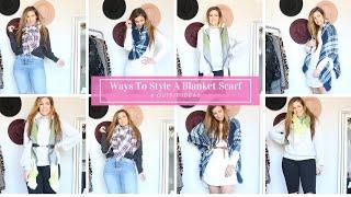 8 Ways To Wear A Blanket Scarf