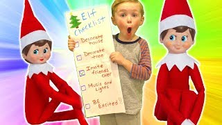 DIY Elf on the Shelf Checklist | DavidsTV