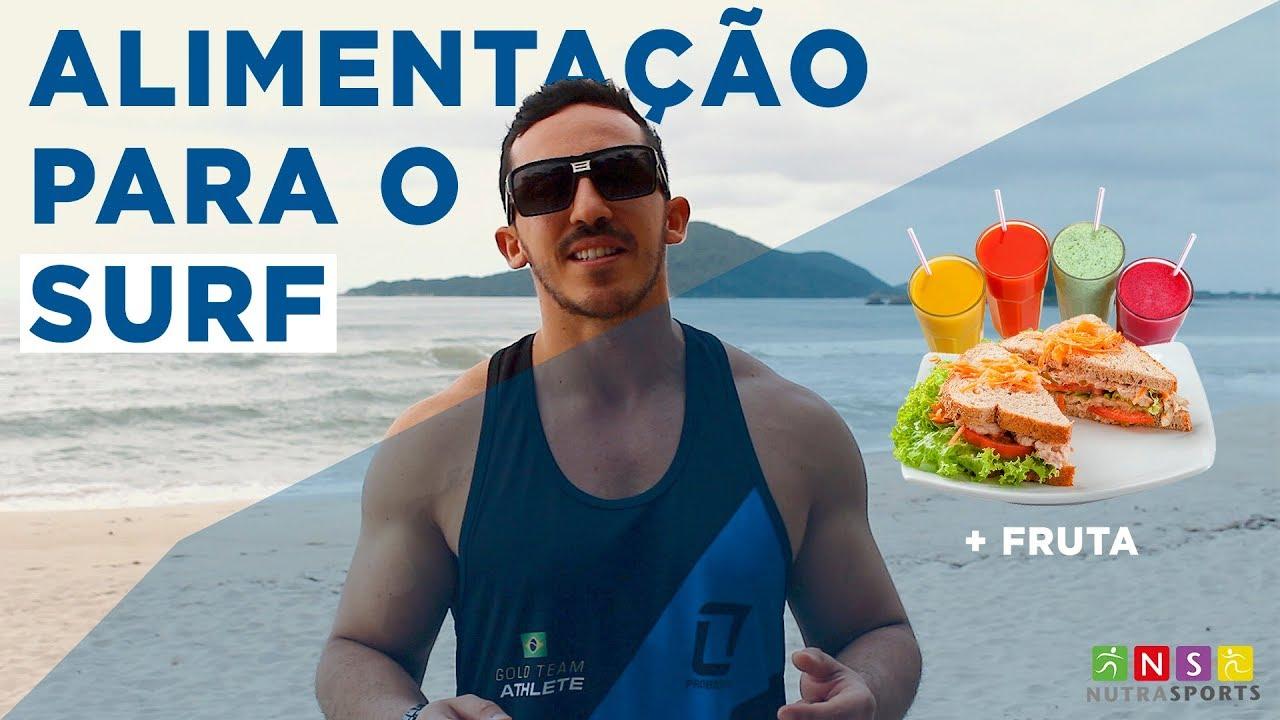 NutraSports - Alimentação para o Surf