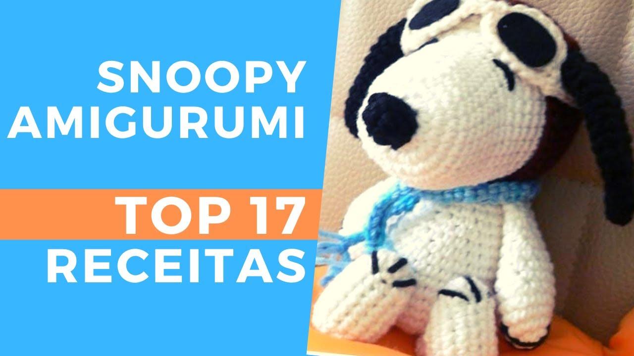 Snoopy E Woodstock Em Amigurumi Crochê - Decoração Quarto - R$ 149 ... | 720x1280