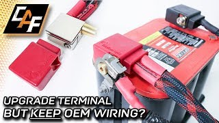 Upgrade battery terminal WITHOUT CUTTING the OEM wire? - Knukonceptz Ultimate Battery Terminal