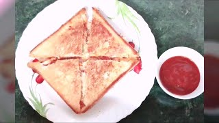 Vegetable Sandwich Recipe Indian Style | How to make Easy vegetable sandwich | Kids Lunch Box idea