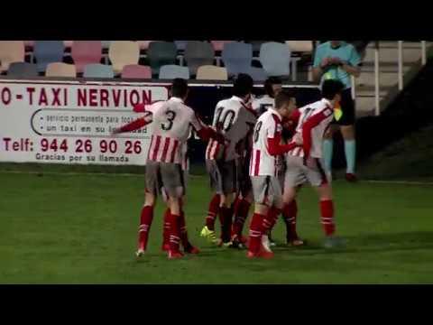 Segunda B 2017-18. Resumen Barakaldo CF 1 -1 Bilbao Athletic