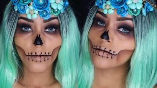 ROSTRO CALAVERICO  HALLOWEEN MAKEUP thumbnail