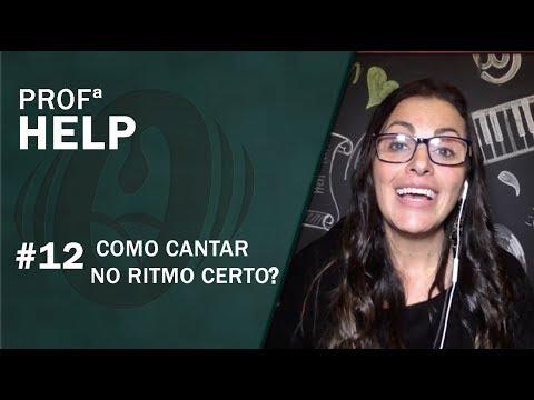 COMO CANTAR NO RITMO - AULA DE CANTO