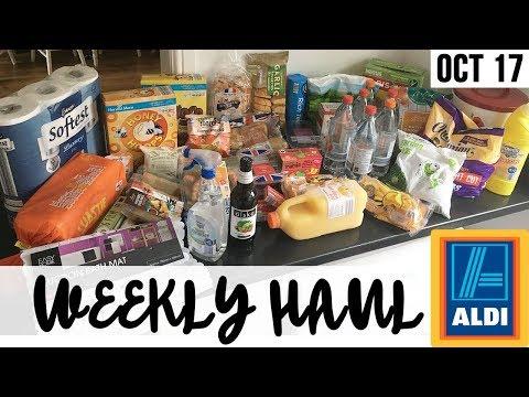 HUGE ALDI HAUL SUPER CHEAP !! GROCERY SHOPPING - WEEKLY FOOD SHOP -