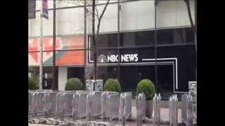 Press Conference at NBC - Random House for Natural Born Citizen Party National Committee