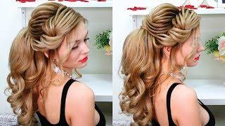 Wedding hair, prom hair. The high, textured ponytail. Training video