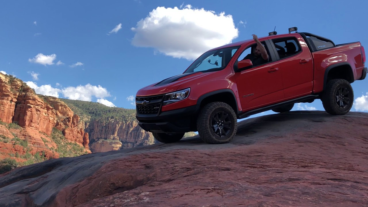 2019 Chevy Colorado Zr2 Crush Dusk Special Edition Youtube