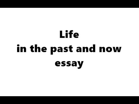 Living in the past essay cnaa score