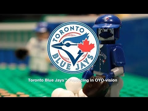 30dcf05d8ed Oyo bluejays home run derby Lego set ! Time-lapse and slo-motion homeruns!