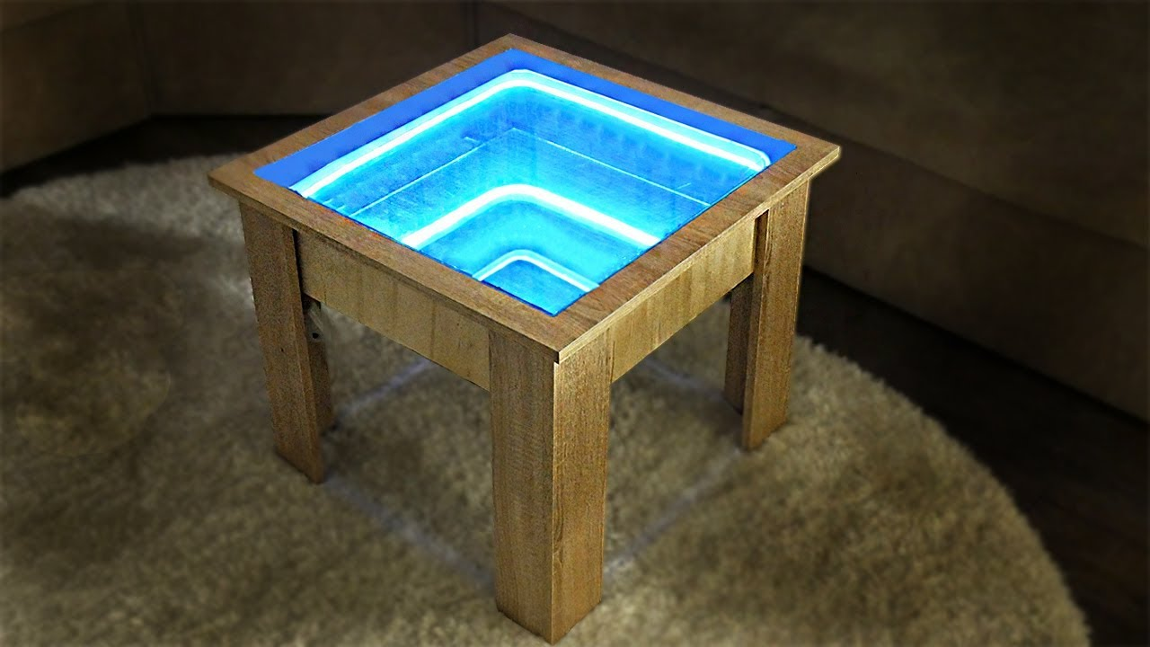 All Mirror Coffee Table.How To Make Infinity Mirror Coffee Table Diy Table