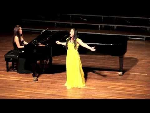 Sa Ugoy Ng Duyan and Mutya ng Pasig by Filipino Soprano - Kundiman