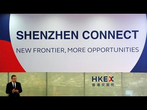 Shenzhen-Hong Kong Stock Connect Off to Slow Start