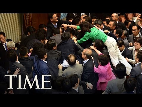 Politician Brawls Caught On Tape Around The World | TIME