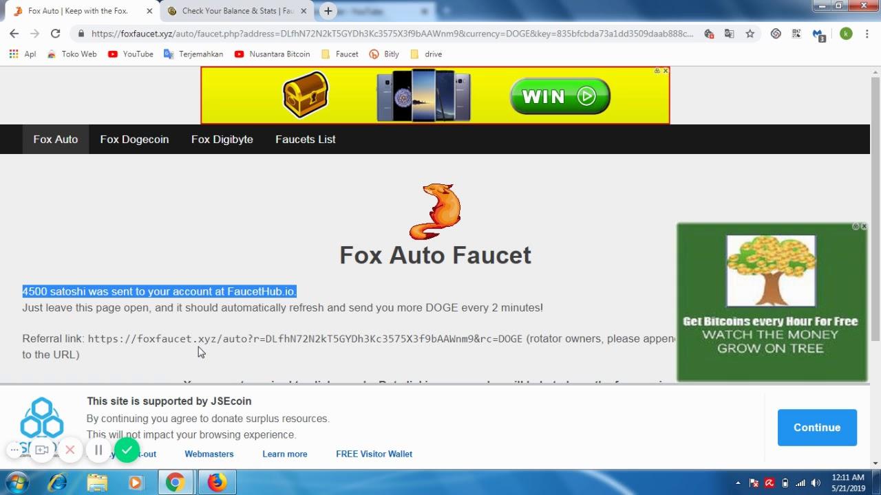 Auto Claim Faucet List