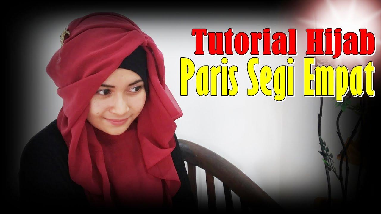Video Cara Memakai Jilbab Segi Empat Modern By Nica 193 YouTube