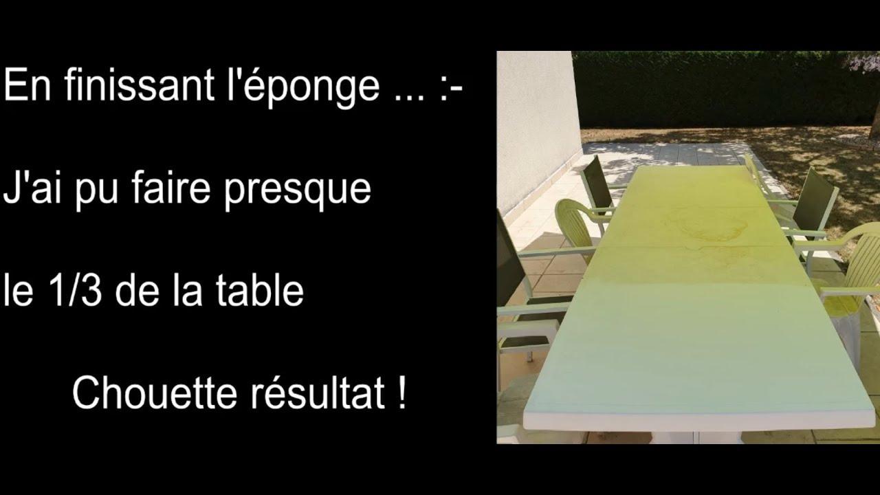 Comment Nettoyer Des Chaises En Plastique Blanc voici comment nettoyer une table en plastique blanc ? [test client]