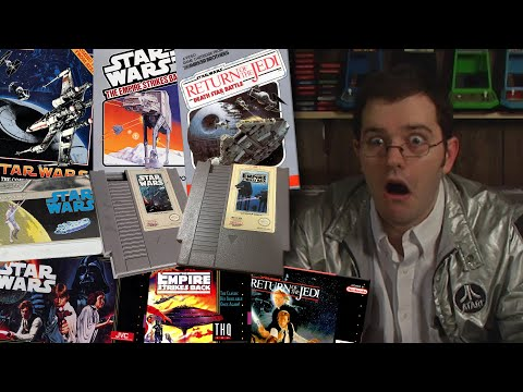 Star Wars Games - Angry Video Game Nerd - Episode 99