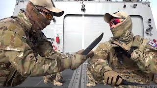KOREAN NAVY UDT/SEAL Knife Fighting Drills