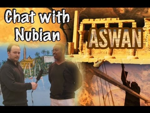 Nubian history: Chat in Arabic about ethnic group in Egypt (w/ subtitles)