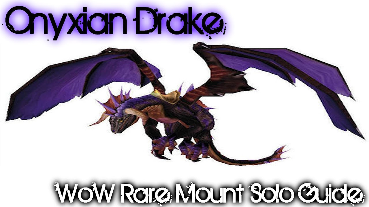 onyxian drake onyxias lair solo guide youtube