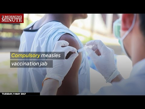 Compulsory measles vaccination in Oman