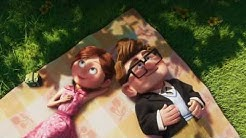 Favorite Pixar's Up scene ever - Ellie and Carl's relationship through time, Sad scene