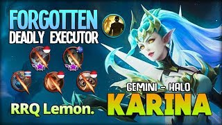 Gemini - Halo Executor Queen! Your Base not Safe! by RRQ Lemon. ~ Mobile Legends