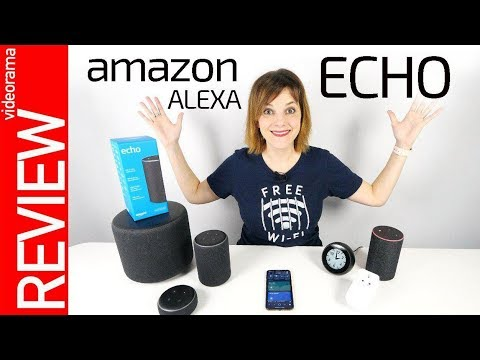 Amazon Echo con Alexa -interrogatorio en ESPAÑOL-